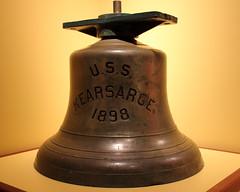 USS Kearsarge Bell HRNM