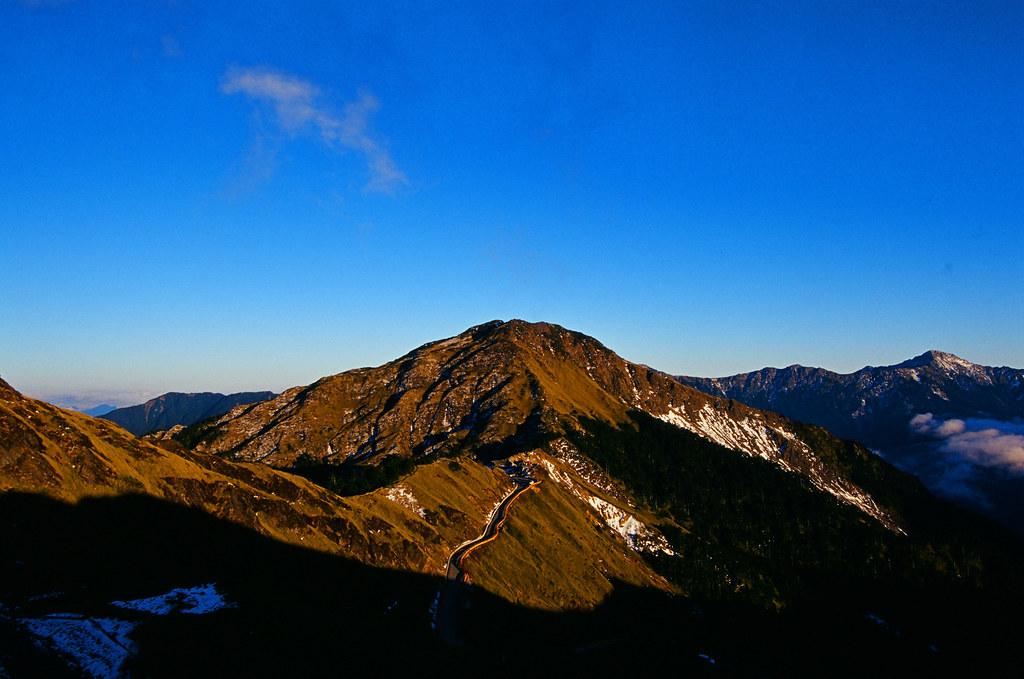 冬日合歡山(使用KODAK E100vs)
