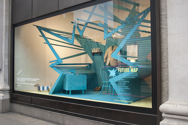 Selfridges Oxford Street - Bright Young Things Window