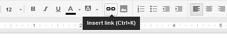 Insert link