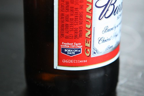 American Budweiser Born on Date