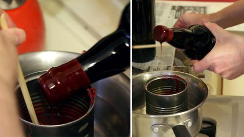 Waxing Bottles