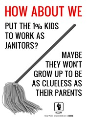 The 1% Kids as Janitors