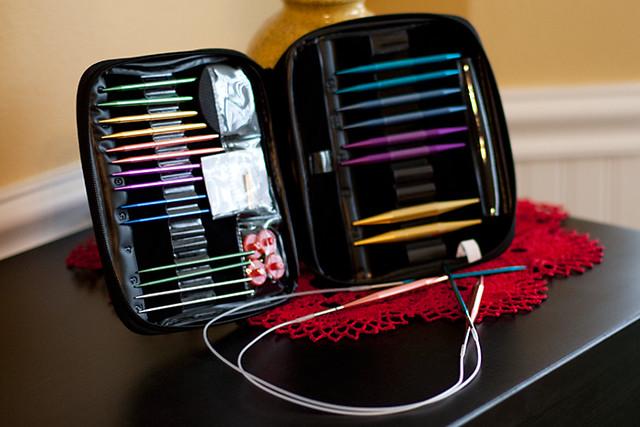 Interchangeable Knitting Needle Kit