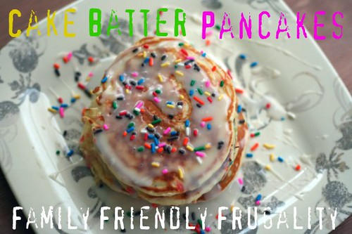 Happy Birthday To My Sweet Boy Cake Batter Pancakes Recipe