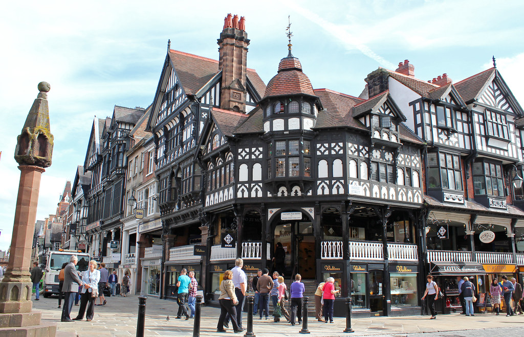 Chester town centre.