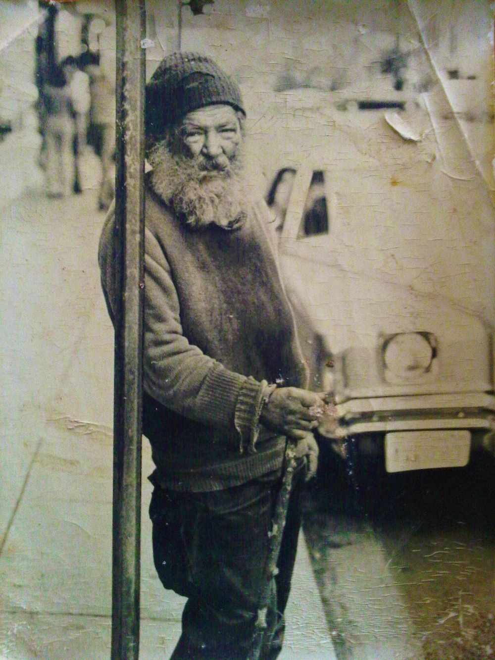 Homeless Man, Washington, DC 1960s