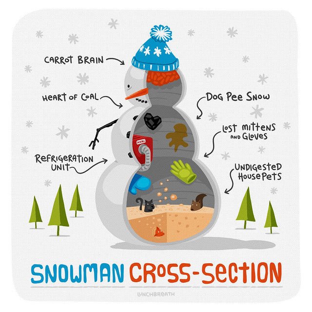 Snowman Cross Section