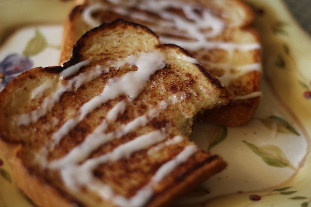 Cinnamon Roll Toast