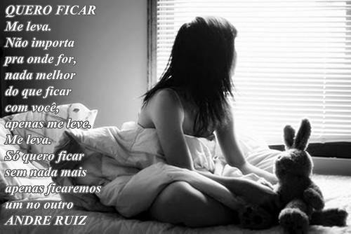 QUERO FICAR by amigos do poeta
