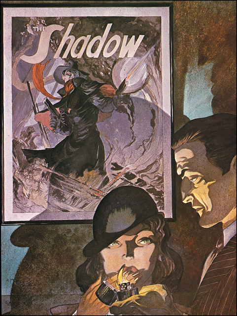 Shadow poster by Mike Kaluta