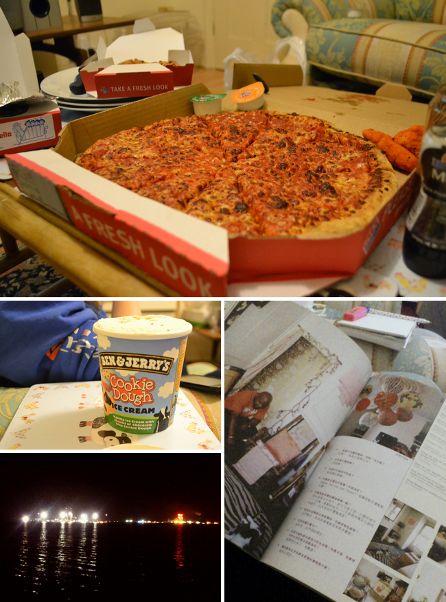 daisybutter - UK Style Blog: week in photos, dominoes, ben and jerry's cookie dough, southampton docks