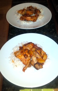 Red Curry Mahi Mahi meal