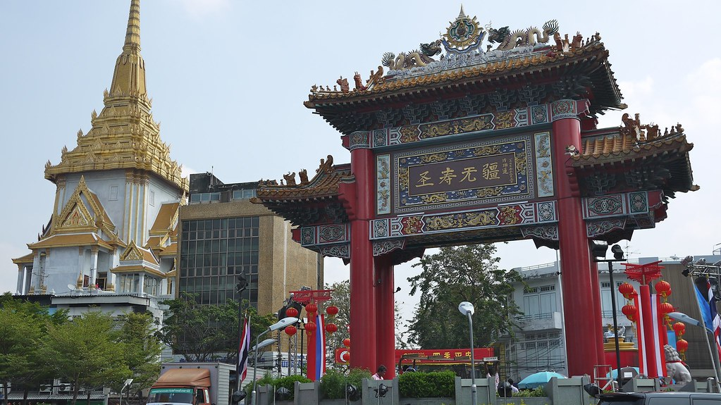Bangkok Day 3 Afternoon: Chinatown and Little India