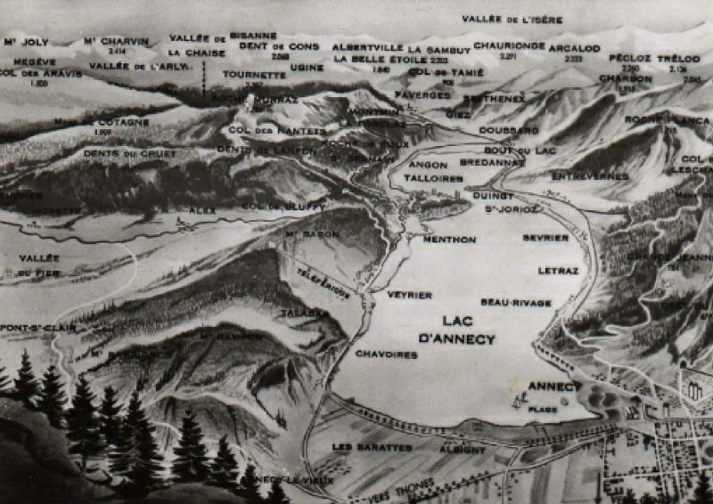 ANNECY MAP