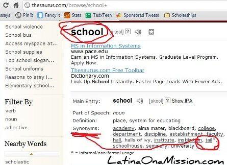 School = Jail