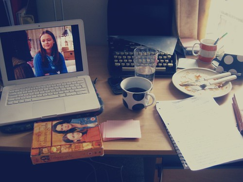 GILMORE GIRLS WORKSPACE