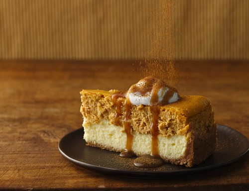 Pumpkin Cheesecake with Caramel Sauce Recipe