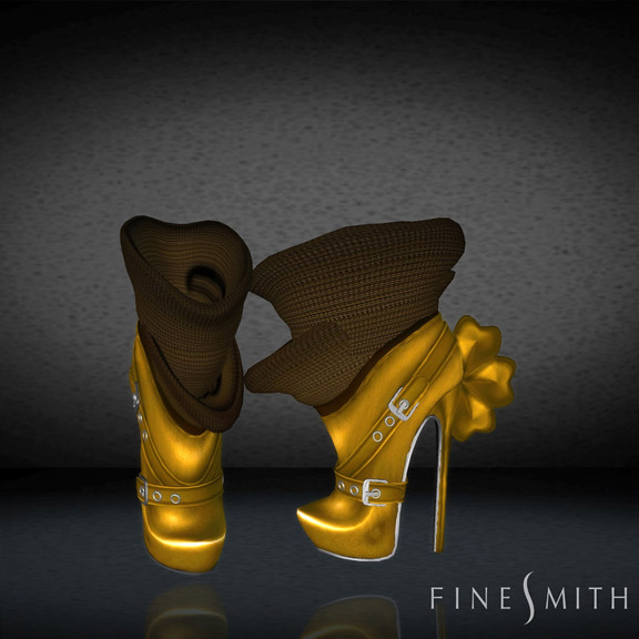 FINESMITH CANDYBIRD BOOTS mustard