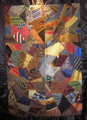 joeys tie quilt by Pinyon Creek Stitchin'