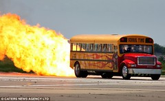Paul_Stender_World_Fastest_Bus flame bus