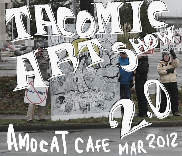 Tacomic Art Show 2.0