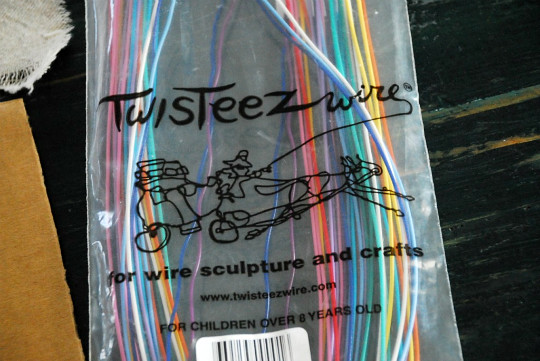 step 2 - use Twisteez wire