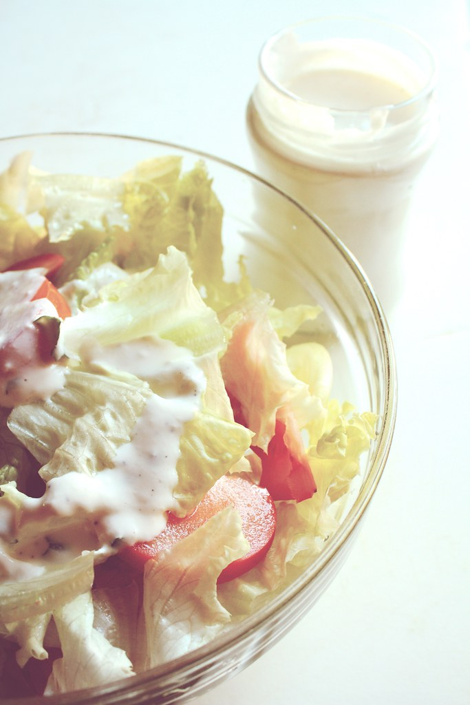 Salad with Homemade Ranch