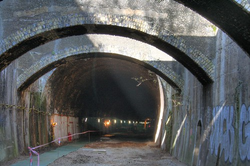 Into the Connaught Tunnel