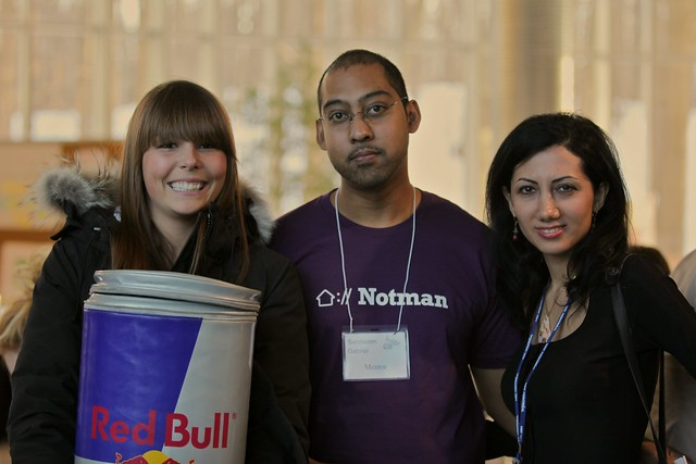 Red Bull girl @ StartupWeekend