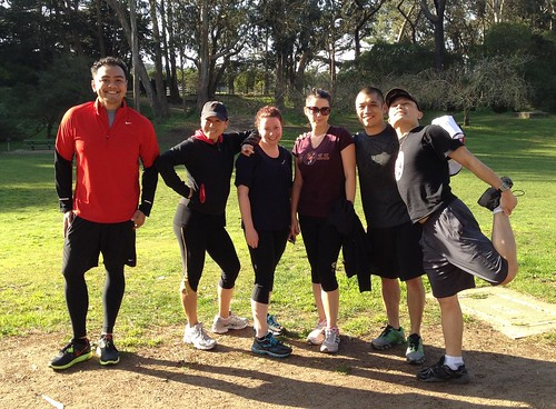 Golden Gate Park runners