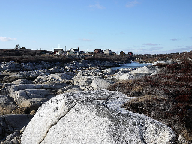 peggy cove village