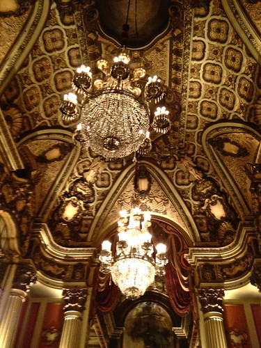 LA Theater lobby ceiling