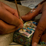 Miniaturist Painting in Esfahan, Iran