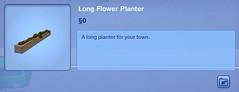 Long Flower Planter