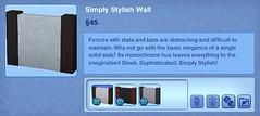 Simply Stylish Wall