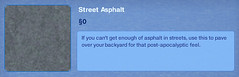 Street Asphalt