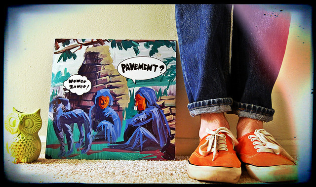 vinyl monday: pavement