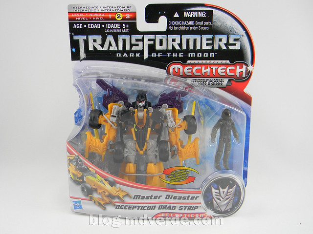 Transformers Drag Strip - Human Alliance Scout - Dark of the Moon - caja