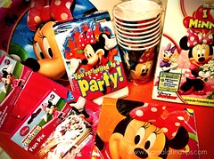 Minnie party kit