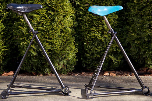 Bike Seat Bar Stools