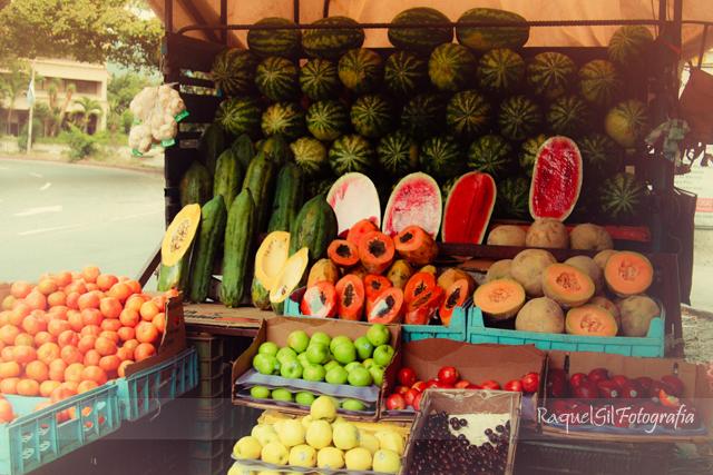 5. Un puesto de frutas