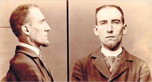Félix Fénéon mugshot, trial, anarchist