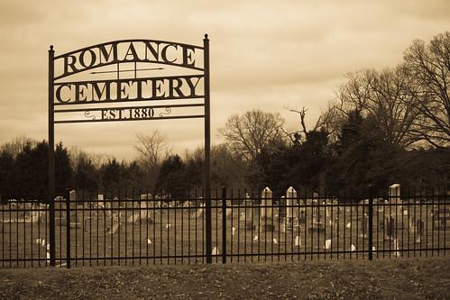 cemetery romance arkansas