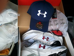 Under Armour - Shoes & Hat