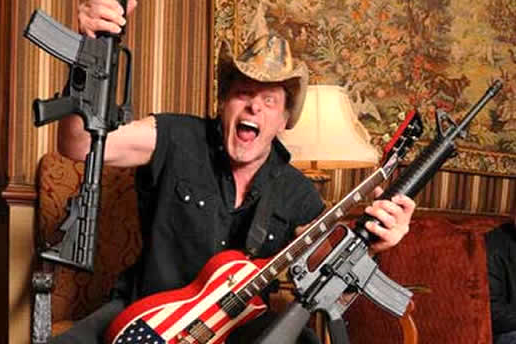 Texas Town's Request to Ted Nugent: Play 'Far, Far Away'