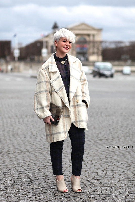 Pauline at Paris fashion week