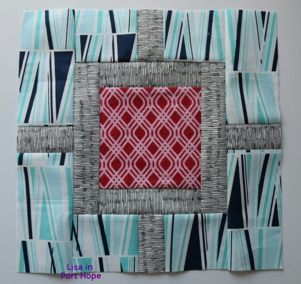 April block for Anne Marie