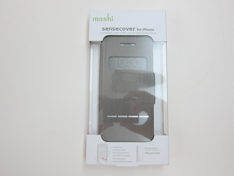 Moshi SenseCover for iPhone - Box Front