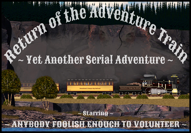 Return of the Adventure Train Banner